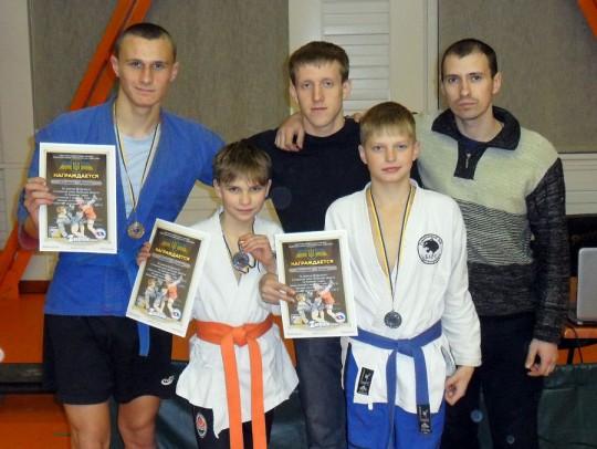 Открытые соревнования на кубок Донецкой области по боевому самбо среди юношей