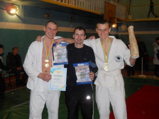 Открытый чемпионат по рукопашному бою в Славянске