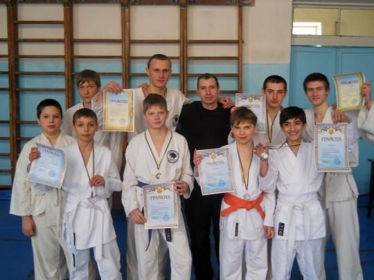 Чемпионат Донецкой области по прикладным единоборствам