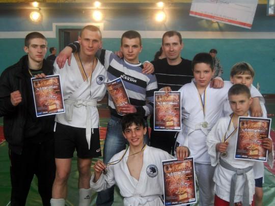 кубок Донецкой области по боевому самбо среди юношей и юниоров
